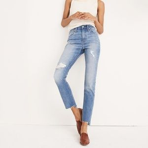 Madewell lita wash slim boy jeans